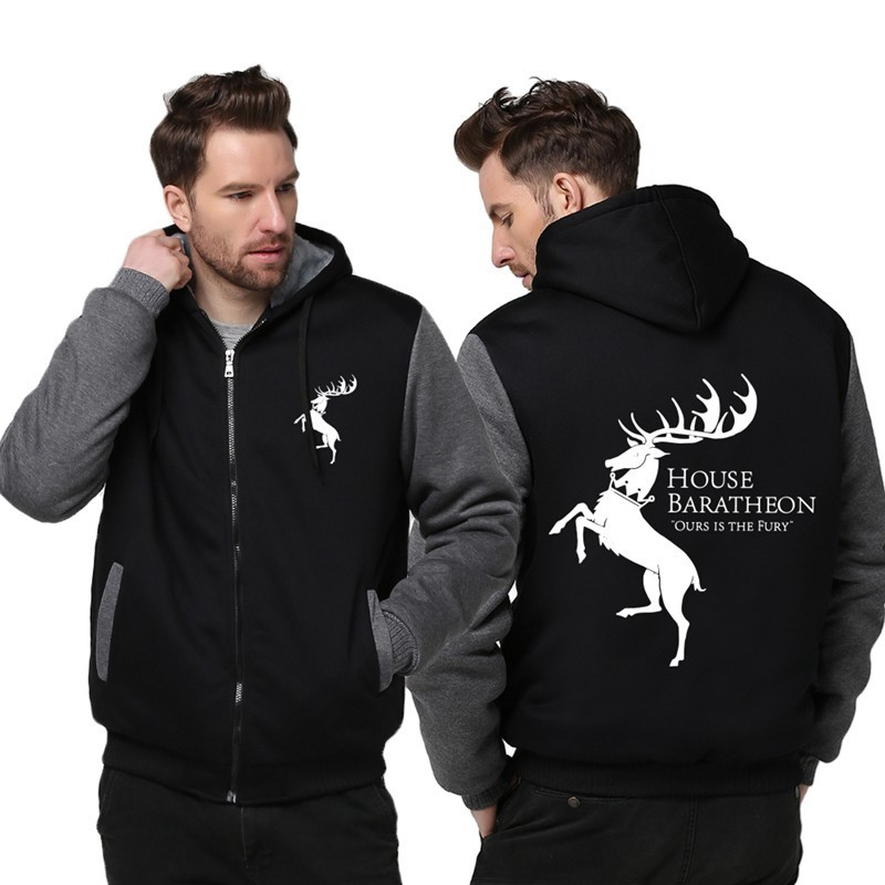 USA SIZE Spiderman Spider Men's  Hoodies, Sweatshirts Fashion Winter Thick Fleece Zipper Male Hooded Sweatshirts Unisex Jackets