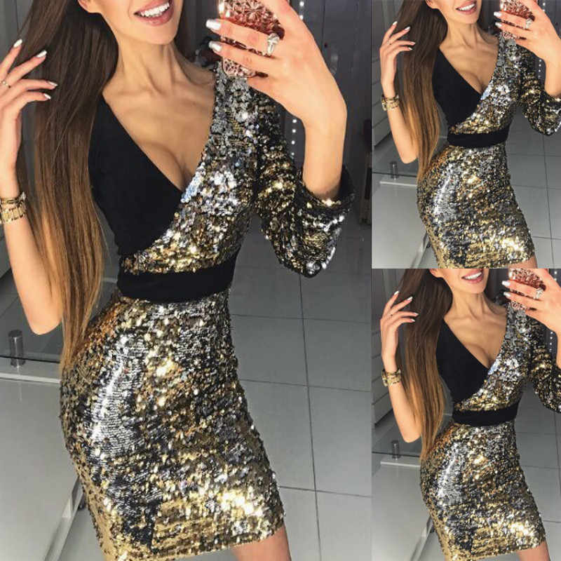 262e9c1a76 Detail Feedback Questions about Try Everything 2019 Sexy Sequin ...