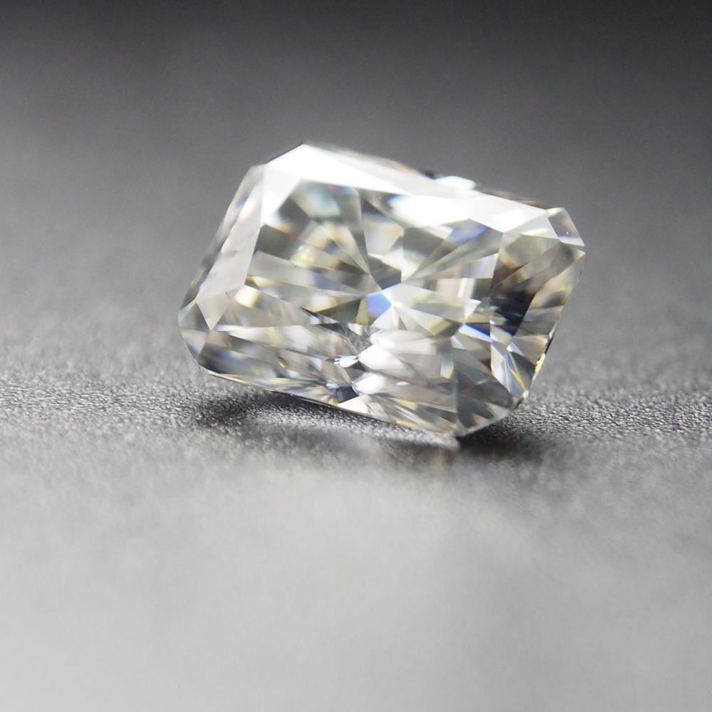 10*14mm Radiant Cut 8.41 Carati Vvs Moissanite Super Bianco Allentato Moissanite Anello Di Diamante Per La Cerimonia Nuziale