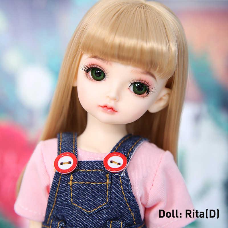 1/6 BJD кукла полный комплект костюм Rita souldolllory ваниль Mien Kimi Nine9 pio милый йосд парик одежда обувь Littlefee полный комплект