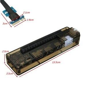 Image 3 - Hot V8.0 EXP GDC чудовище ноутбук внешняя независимая видеокарта док NGFF ноутбук PCI E расширительное устройство
