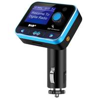 USB FM Transmitter MP3 Player U disk LCD Display Car Kit Charger Adapter With DAB Function Bluetooth V4.2 A2DP Noise suppressi