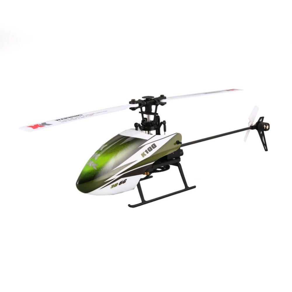 XK K100 6CH 3D 6G System Mini RC Remote Control Helicopter Drone Toys with Built in Gyro RTF for Gift Present rtf rc helicopter k110 6ch 3d 6g system brushless motor bnf drone remote control helicopter with transmitter remote control toy