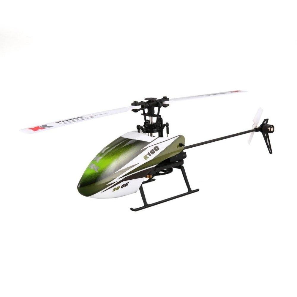XK K100 6CH 3D 6G système Mini RC télécommande hélicoptère Drone jouets avec Gyro RTF intégré pour cadeau présent