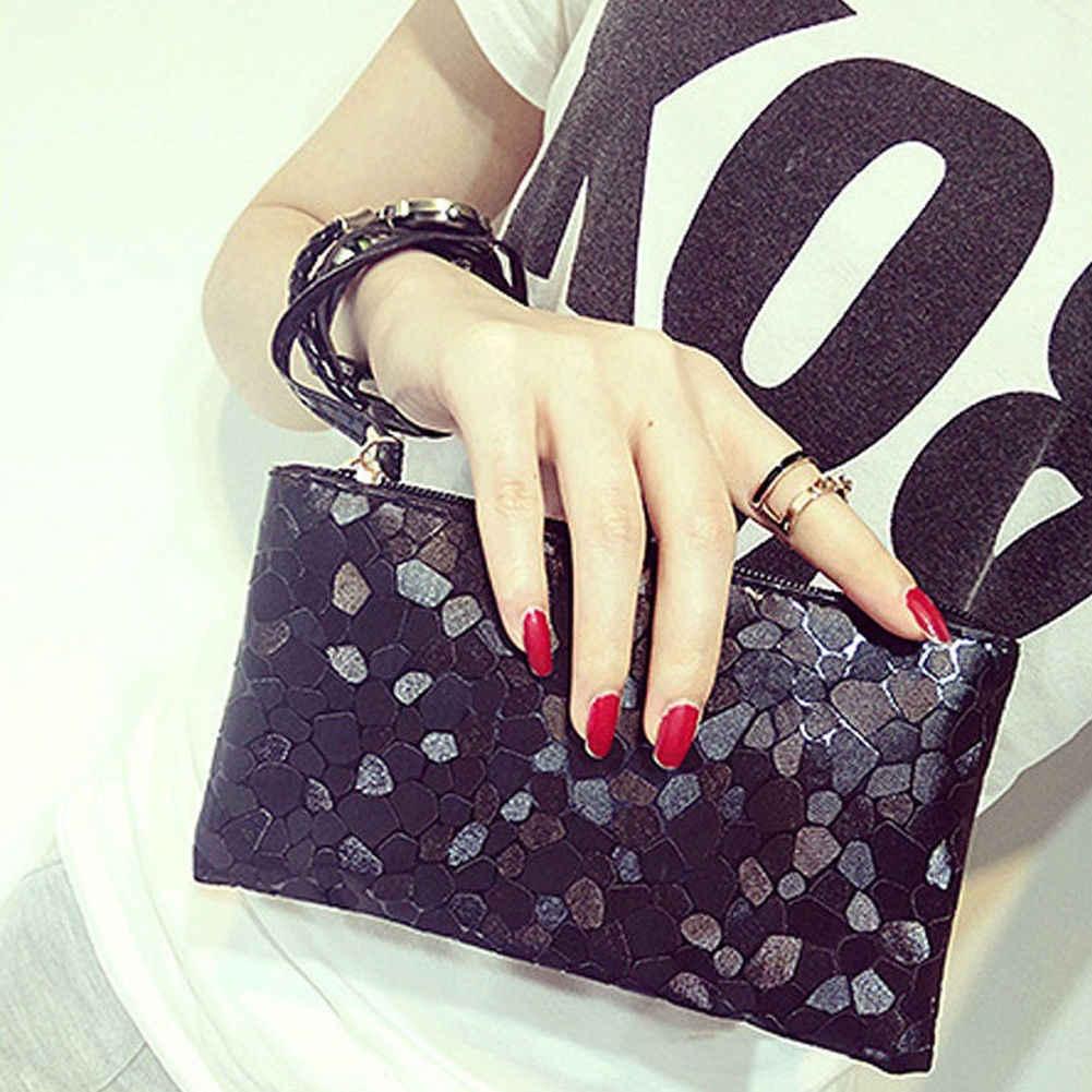 2019 nouveau dames Designer paillettes sac de soirée pochette sac à main à glissière sac de haute qualité élégant Simple sac à main