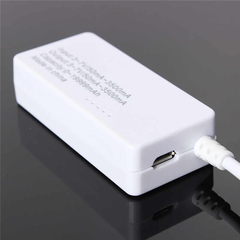 LCD USB Mini Spanning en Stroom Detector USB Charger Tester Meter Test Tafel Voor USB Laadstroom Spanning
