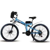 Polegada bicicleta de montanha chamada 60 km maxspeed 35 km/h bicicleta elétrica dobrável andando 500 w motor potência duplo choque ebike