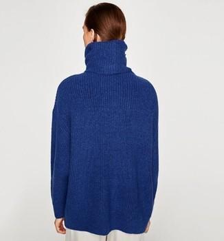 Oversized Turtleneck Sweater 3
