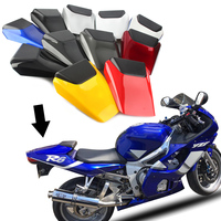 Motorcycle Rear Pillion Passenger Cowl Seat Back Cover Fairing Part For Yamaha YZF R6 1998 1999 2000 2001 2002