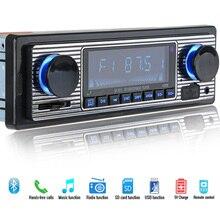 Display LCD Auto Lettore di Musica di Bluetooth Classic MP3 Stereo Vintage Radio FM USB Aux Audio Trasporto di Goccia #1126
