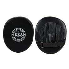 Качество ручной целевой ММА боевые Тайский Kick Pad комплект черный тренировки каратэ Митт фокус лапы спарринг боксерские сумки