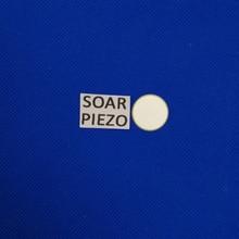 Ультразвуковой Пьезоэлектрический керамический диски 20*0,20 мм 10 МГц-PZT5 пьезодиск PZT кристаллы сенсорный элемент чистящий передатчик чипы