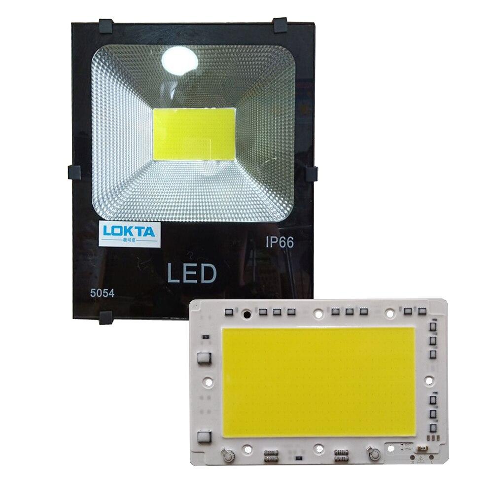 10pcs lot LED Lamp 220V COB Chip Lightning Protection Smart IC DIY No driver LED light For Spot Light Downlight Outdoor Light in Light Beads from Lights Lighting