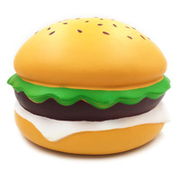 Baleey Squishies Cheese Burger Humongous Hamburger Slow Rising Jumbo Gift Collection Decor Toys Slow Rising Squeeze Healing Toys