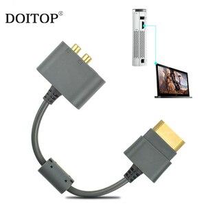 Image 2 - DOITOP Für XBOX360 ALLE Versionen Audio Adapter Kabel Adapter HDMI AV Kabel Für Microsoft XBOX 360 65NM Dünne 45NM