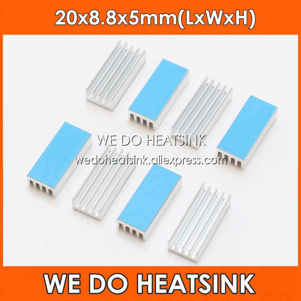 Rarido Heatsink 150x11x5 mm Aluminum heatsink Heat Sink Radiator for Memory Chip Heat Dissipation Aluminum Thermal Strip