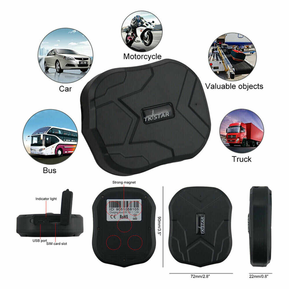 TK905  Genuine GPSTracker Magnetic Car Vehicle Personal Tracking Device