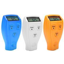 Мини Портативный ЖК-дисплей автомобильный тестер толщины покрытия цифровой детектор измерительный прибор для краски автомобиля GM200/GM200A точность