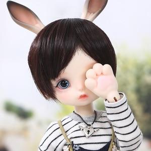 Image 1 - Gina BJD SD Puppe 1/6 Körper Modell Baby Mädchen Jungen Hohe Qualität Spielzeug Shop Harz FiguHuman Version und Fantasie Version