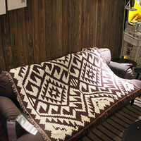 Boho Style Ethnic Tassel Tapestry Sofa Blanket Carpet Home Decoration125x150cm Bed Sofa Bedding Outdoor Picnic Blanket