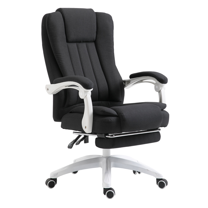 Купить с кэшбэком European Fabric Art Home Computer Can Lie Staff Member Meeting Cowhide Boss Genuine Leather Massage Chair Bow To Work In An