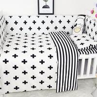 Secret Garden Children Baby Crib Nursery Bedding Set Pure Cotton 3 Piece Set Bed Sheet Quilt Cover Pillowcase For Baby Sleeping