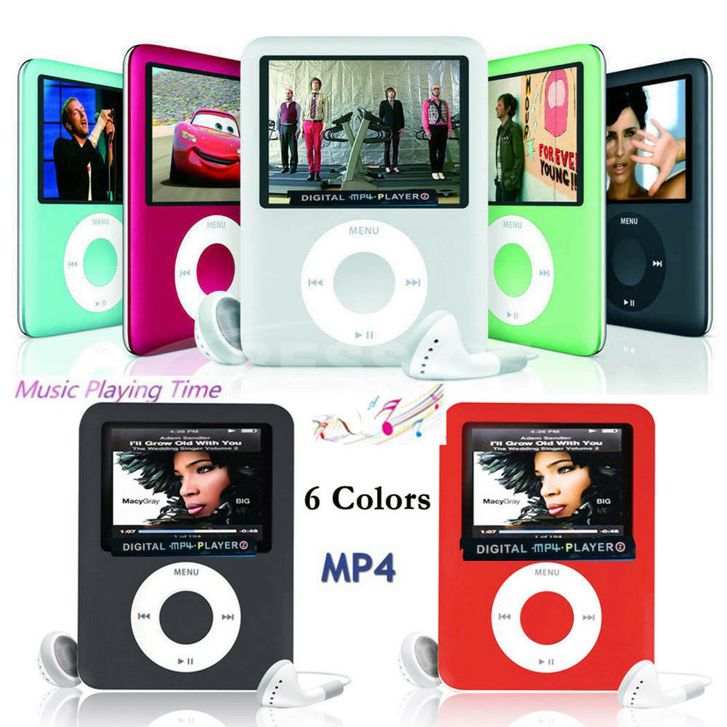 Latest Version MP3 MP4 Music Player Lossless Sound Portable Support up 8-32GB
