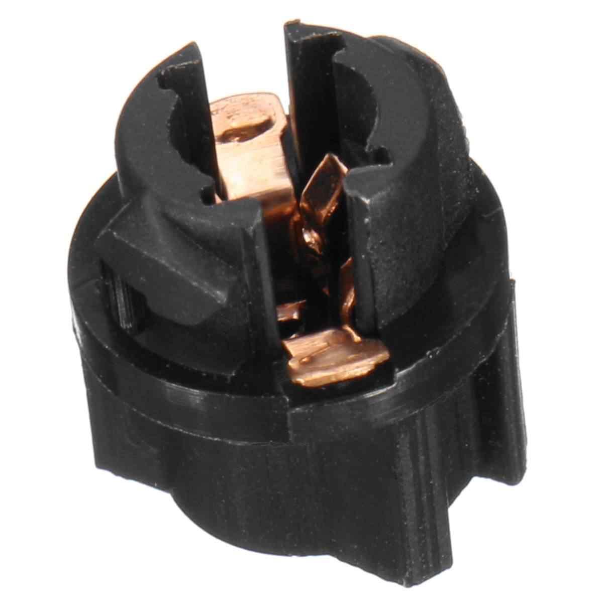 8pcs T5 Socket Twist Lock Instrument Panel Gauge Cluster Dash Light Bulb Holder