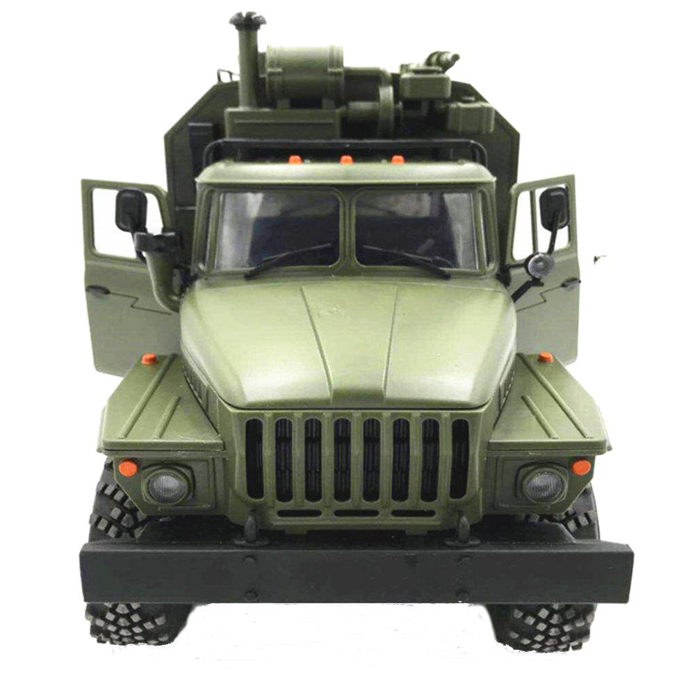WPL B36 Ural 6WD RC voiture camion militaire 1/16 2.4G Rock chenille commande Communication véhicule Auto armée camions jouet Version RTR