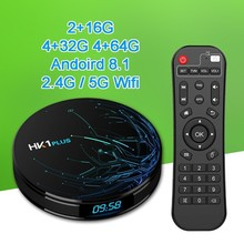 Get more info on the Hk1 Plus 4gb 32gb 64gb Android 8.1 TV Box Amlogic S905X2 Quad Core Dual Wifi Bt4.0 USB 3.0 Smart IPTV TV Box PK T9 X96 MAX