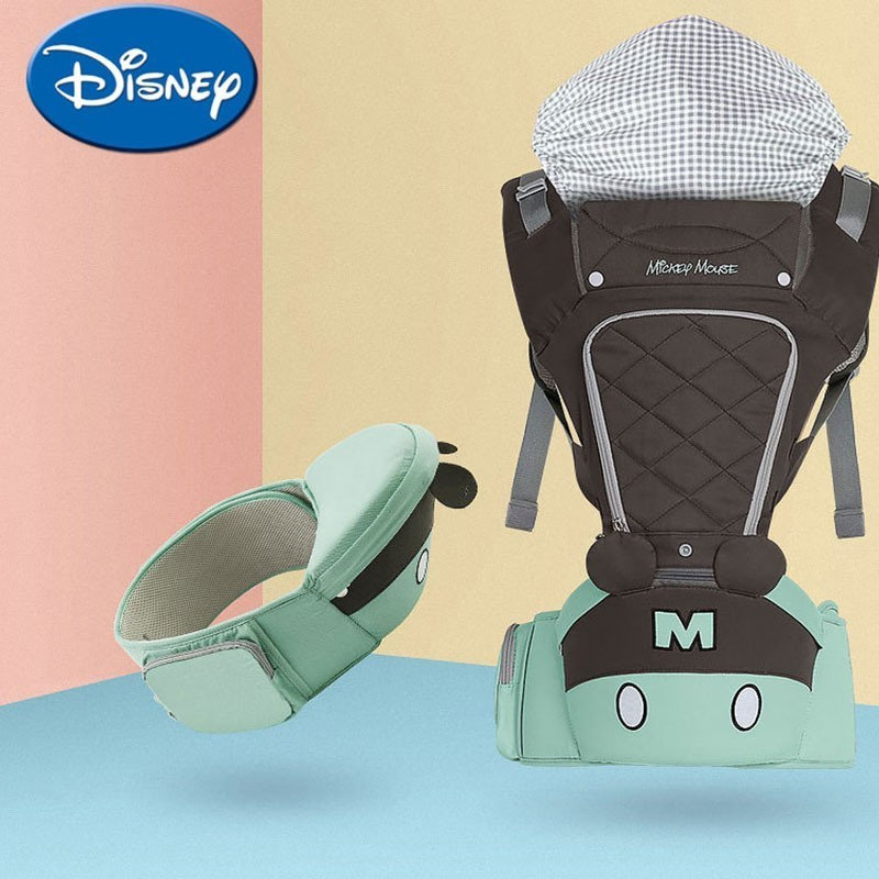 Disney Baby Backpacks Breathable Multifunctional Front Facinig Baby Carrier Infant Baby Sling Backpack Pouch Wrap AccessoriesDisney Baby Backpacks Breathable Multifunctional Front Facinig Baby Carrier Infant Baby Sling Backpack Pouch Wrap Accessories