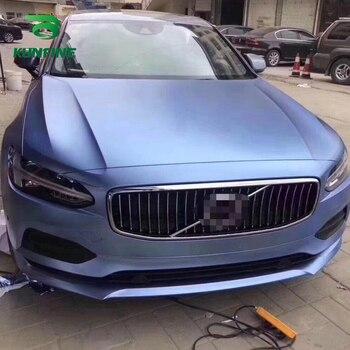 Car Styling Wrap Electro-optic Blue fog blue Car Vinyl film Body Sticker Car sticker With Air Free Bubble For Motorcycle Car