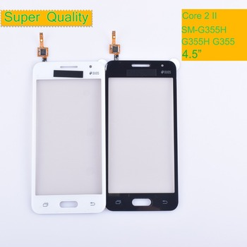 10Pcs G355 For Samsung Galaxy Core 2 II SM-G355H G355H G355 G355M Touch Screen Panel Sensor Digitizer Glass Touchscreen NO LCD samsung original replacement battery eb bg355bbe for galaxy core 2 g355h g3558 g3556d g355 g3559 sm g3556d g3589w g3586v 2000mah