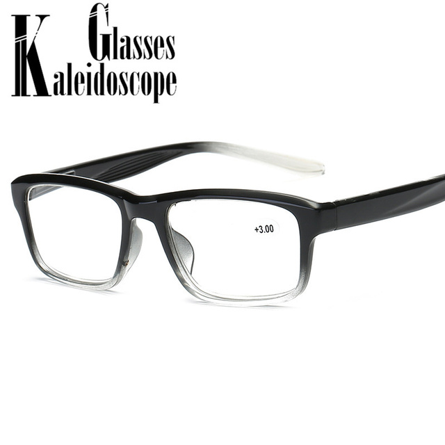 Women Men Ultra light Reading Glasses Fashion Clear Frame Prescription Glasses with Diopter +1.5 +2.0 +2.5 +3.0 +3.5