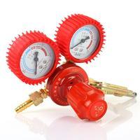 YQE 03 Red Boutique Acetylene Oxygen Meter Oxygen Acetylene Regulator Pressure Relief Meter Acetylene Pressure Regulator