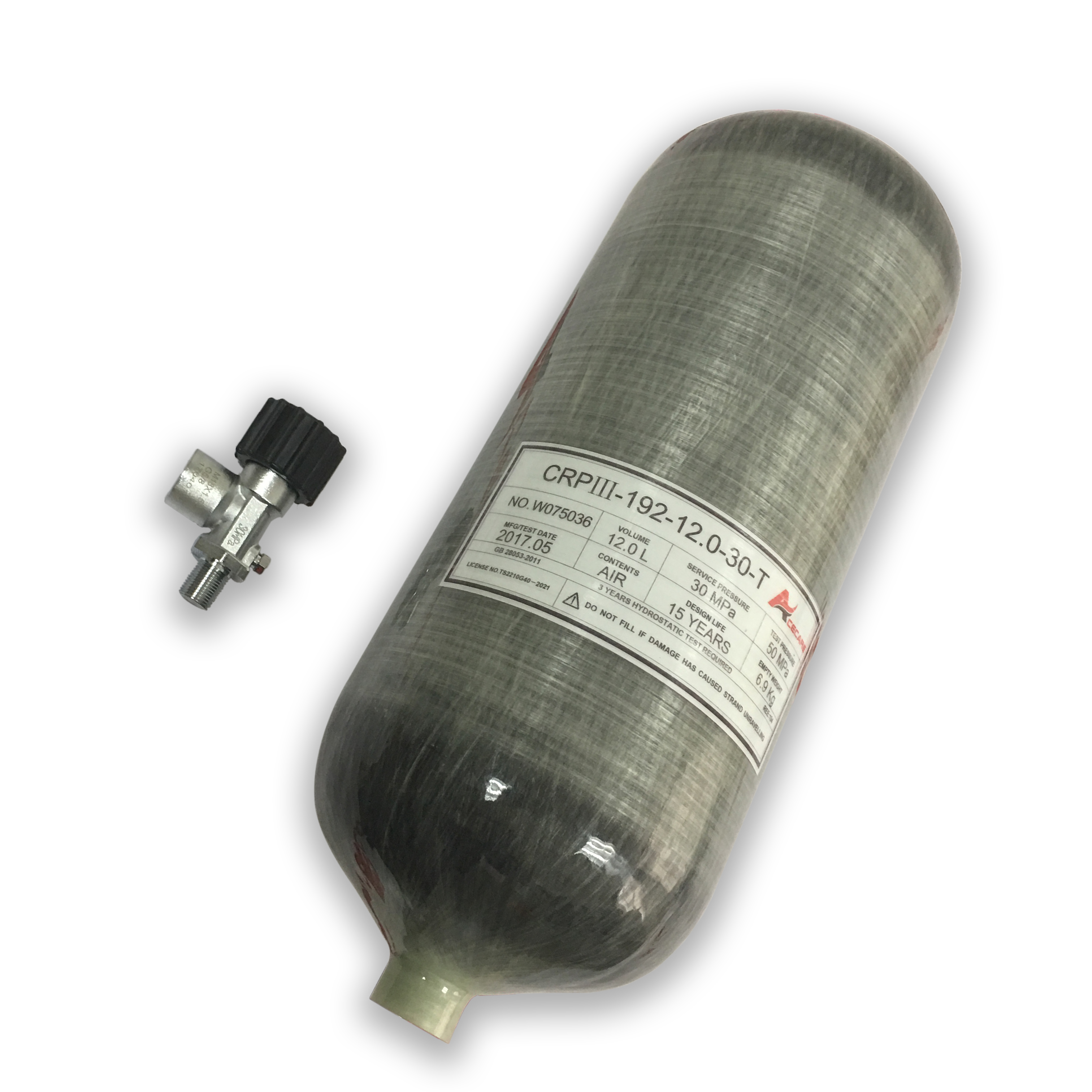AC31210 Pcp Tank Scuba Mini Diving High Pressure Cylinder 4500psi Airforce Pcp Diving Balloon For Paintball Air Gun ACECARE 2019