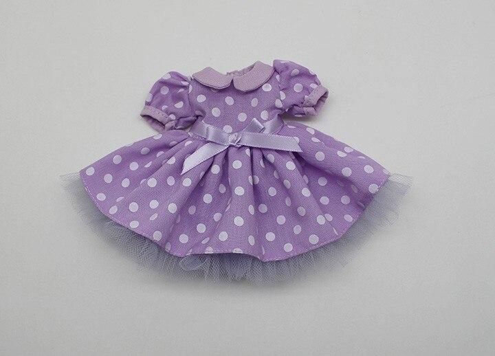 Neo Blythe Doll Polka Dot Princess Dress 4