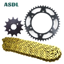 520H 13T 44T Motorcycle Best Transmission Drive Chain and front rear sprocket set for HONDA CB250 Hornet MC31 CB 250 1996 - 2007 yowling motorcycle parts accessories front floating brake discs rotor for honda hornet 250 cb250 1996 2001 vtr250 1998 2007