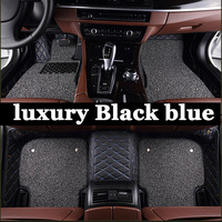 ZHAOYANHUA Special made car floor mats for Audi A6 C5 C6 C7 A4 B6 B7 B8 Allroad Avant foot case high quality anti slip car styli