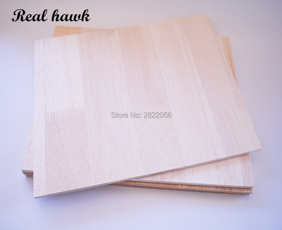 150x150mm Thickness 1/2/3/4/5/6/8mm AAA+ Balsa Wood Sheet PlyWood Puzzle Thickness Super Quality For Airplane/boat DIY