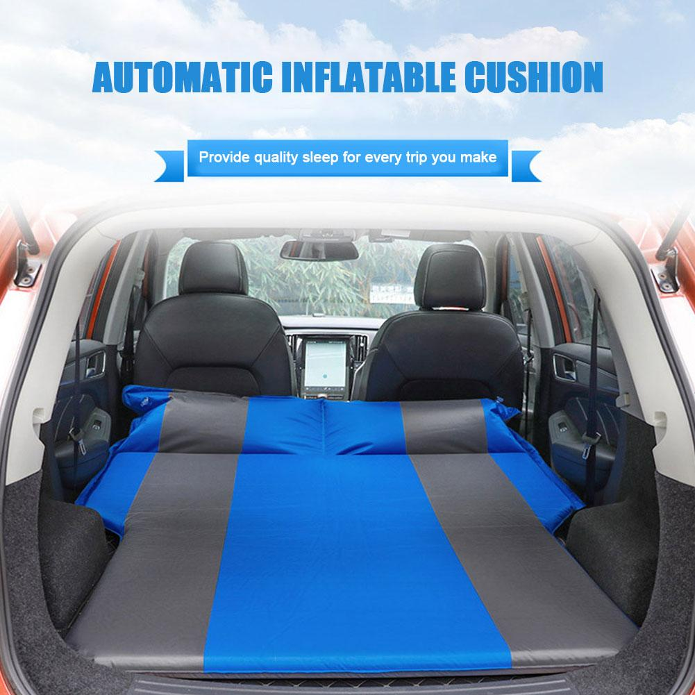 Car Automatic Air Bed SUV Trunk Travel Inflatable Air Bed Camping Outdoor Mattress Waterproof And Breathable Portable Travel