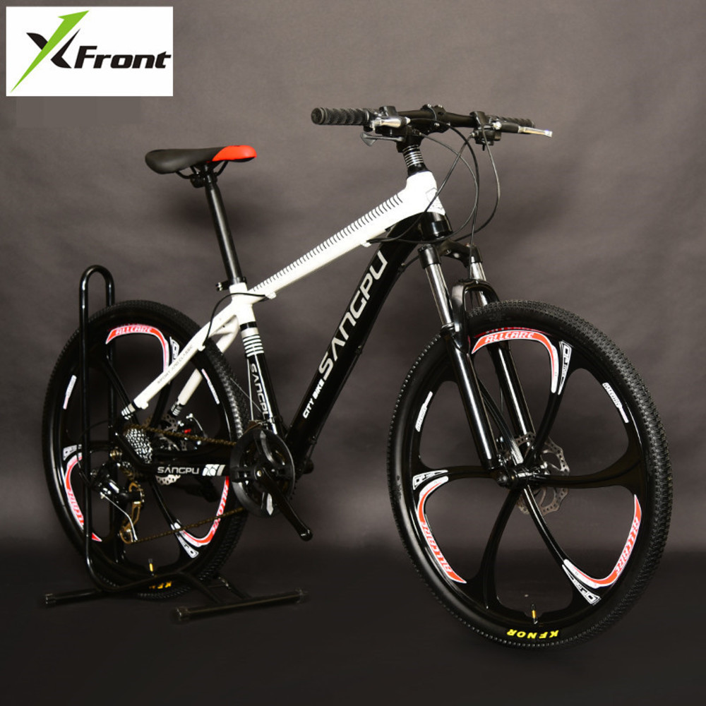 New Brand Aluminum Alloy Frame 26 Inch Wheel 27/20 Speed Mountain Bike Outdoor Sports Dual Disc Brake Mtb BicycleNew Brand Aluminum Alloy Frame 26 Inch Wheel 27/20 Speed Mountain Bike Outdoor Sports Dual Disc Brake Mtb Bicycle