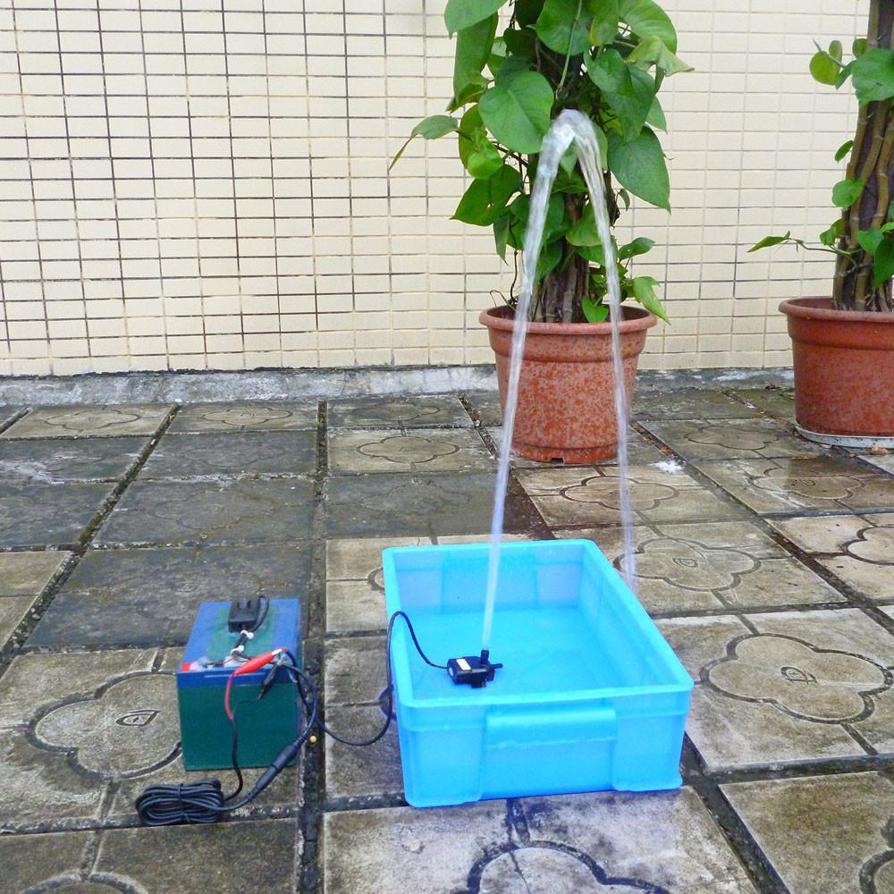 12V 9W Quiet DC Brushless Pump Wire Connecting Style