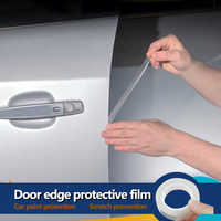 YOSOLO 1.5cmx5m Paint Protective Film Door Scratch Protector Anti-scratch Wrap Sticker Car Door Edges Guard Styling Mouldings