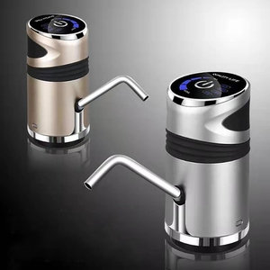 Image 5 - 自動電気温水ポンプボタンディスペンサーガロンボトル飲料スイッチ水ポンプ装置
