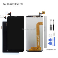Display Screen Replace for Oukitel K5 LCD Touch Screen 5.7 inch black white for Oukitel K5 Touch Screen LCD With Frame