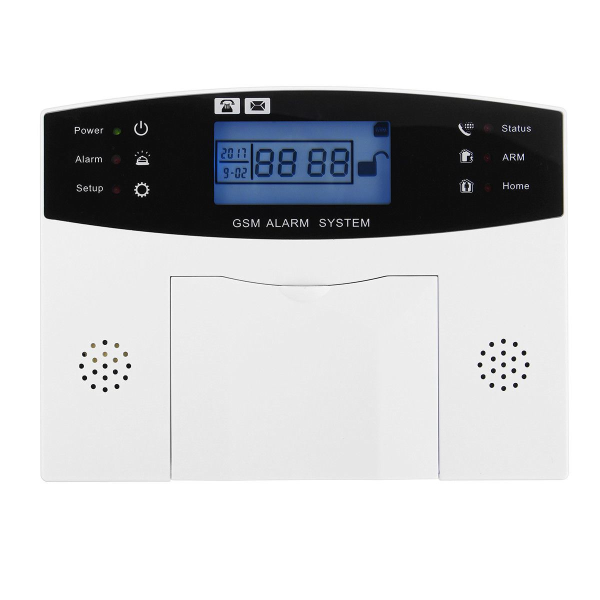 Écran LCD GSM sans fil système d'alarme antivol maison SOS mouvement porte fenêtre capteur alarme de sécurité - 2