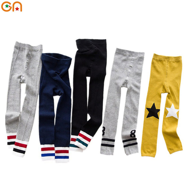 Autumn,Winter New kids Cotton leggings Boy,Girl ,Baby,Infant fashion Wild Keep warm pants For 3-7T children Clothing gifts CN