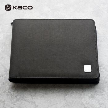 Kaco Alio Pen Storage Bag For 20/10 Pens Zipper Warterproof Pen Storage Bag Black Xiomi Pen Case Holder Storage Pouch Pencil
