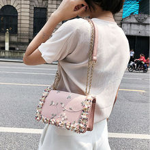 Women's fashion Shoulder Bags crochet hand embroidery embroi